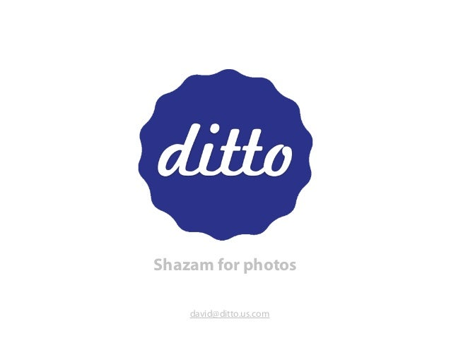 Introducing Ditto, a photo analytics tool for brands