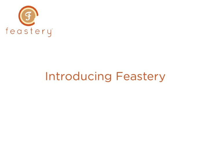 Introducing Feastery