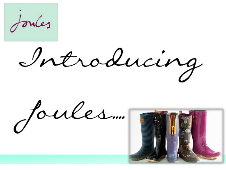 Introducing Joules | joules.com