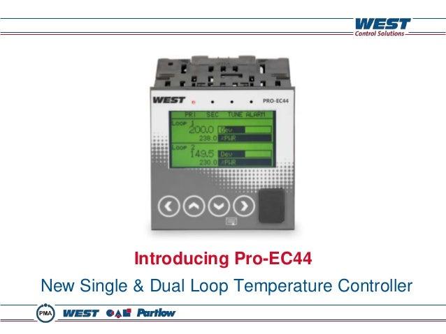 Introducing Pro-EC44 New Single & Dual Loop Temperature Controller