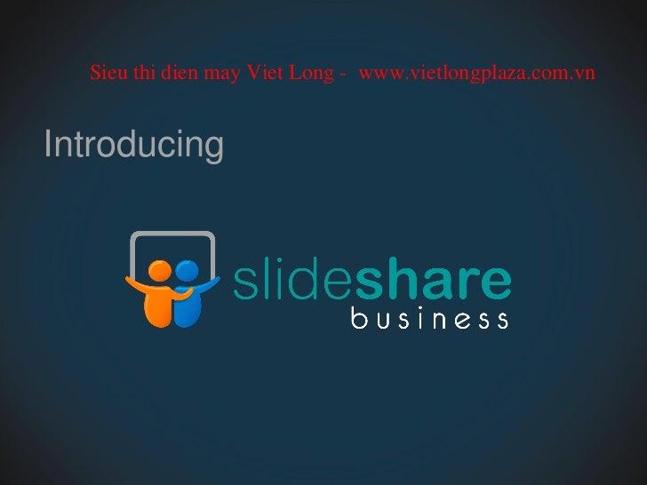 Introducing slideshare business