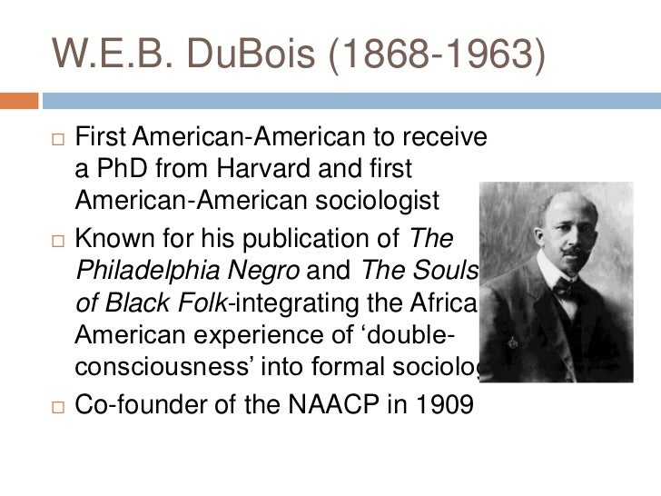 web du bois characterization of black religion W e b du bois on religion my religious development has been slow and uncertain a hymn to the peoples by w e b du bois black studies, music.