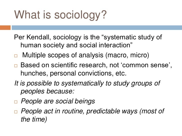 What is Sociology???????