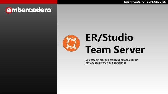Introducing ER/Studio Team Server
