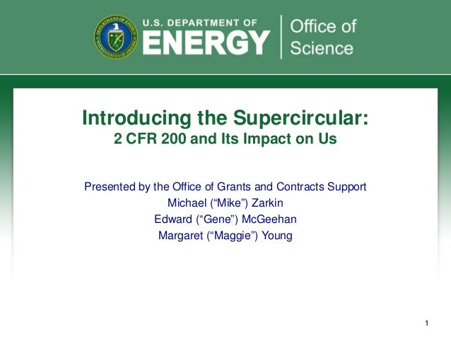 Introducing the supercircular