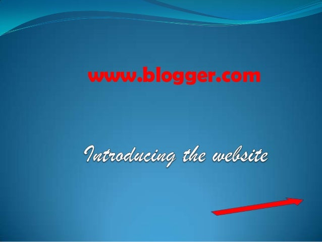 Introducing the website