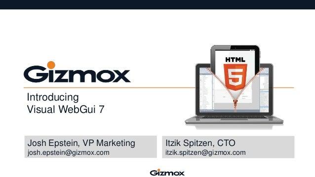HTML5 Development with Gizmox Visual WebGui7