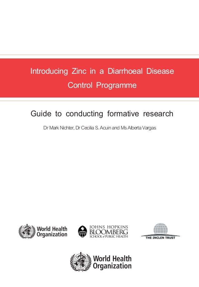 Introducing zinc in a diarrheal disease control program