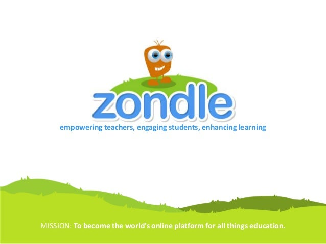 empowering teachers, engaging students, enhancing learning MISSION: To become the world's online platform for all things e...