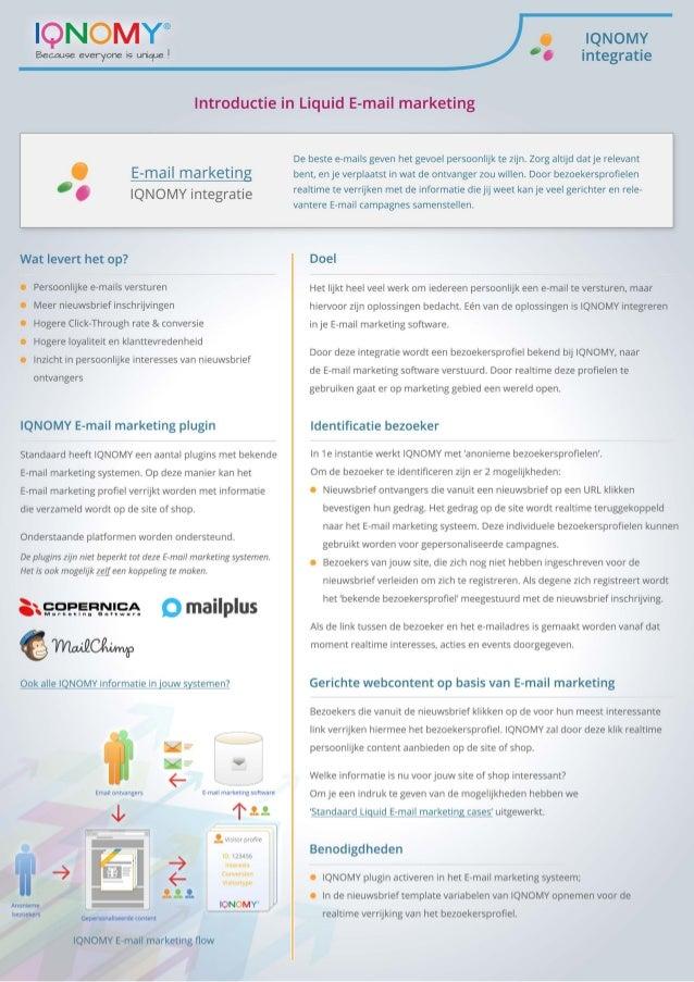 Introductie in Liquid E-mail marketing