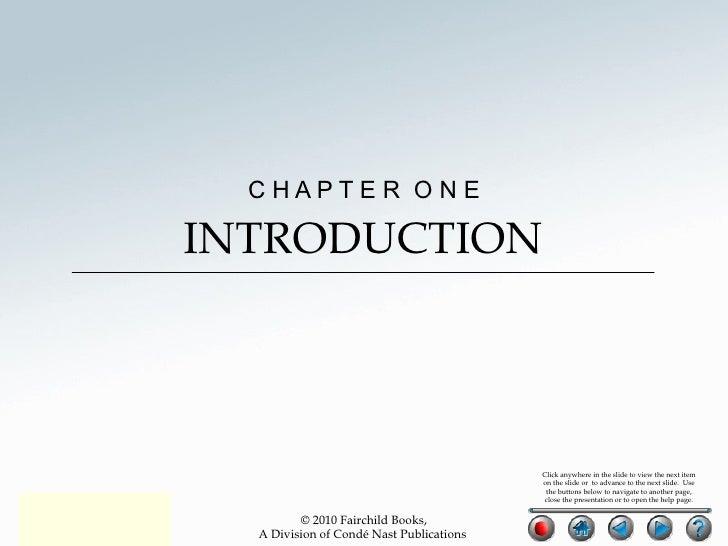 C H A P T E R  O N E INTRODUCTION