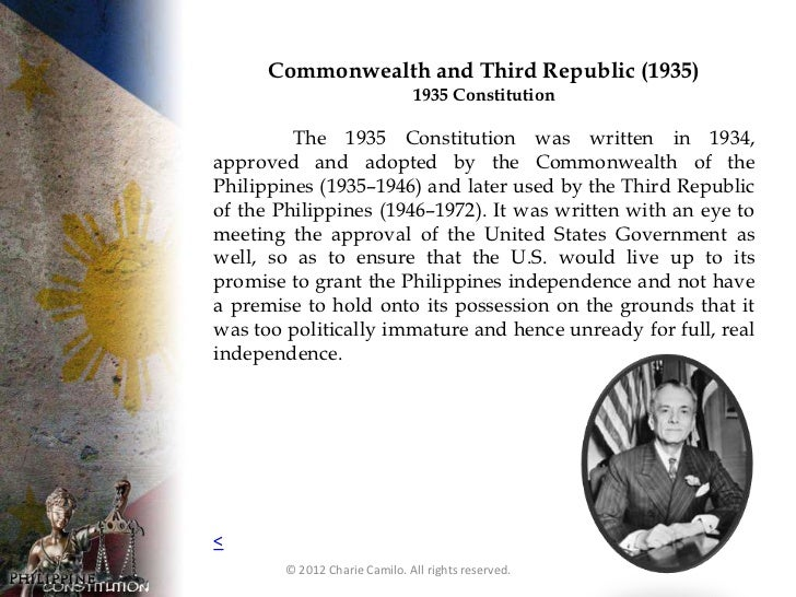philippine constitution 1987 essay Philippine constitution - article 14 : education  it shall be further developed and enriched on the basis of existing philippine and other languages.
