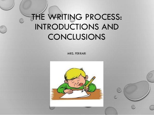 Practice - Writing your conclusion