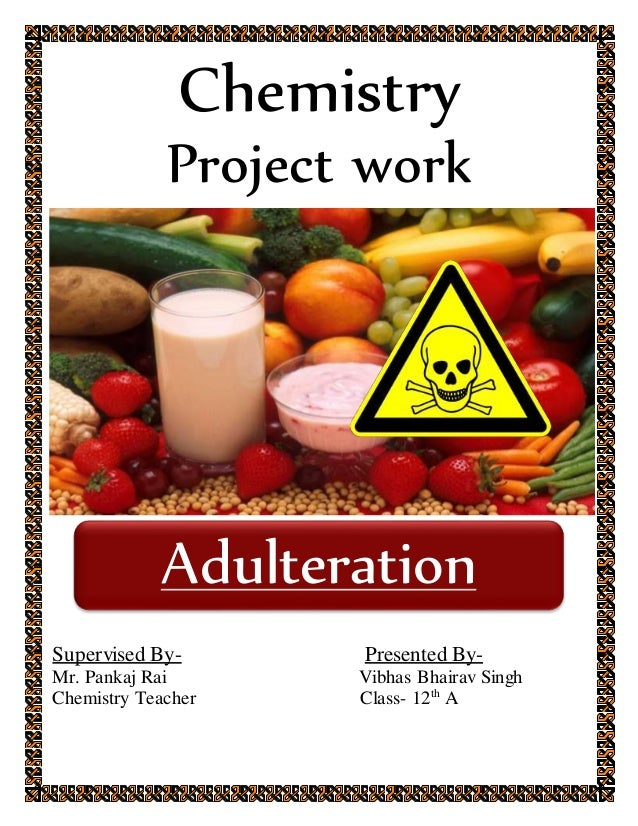 adulteration of food in bangladesh Paragraph: food adulteration  adulteration of food with toxic chemicals harmful to health has reached an epidemic proportion in bangladesh.