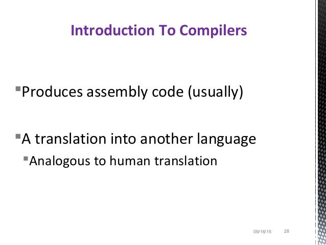 Compilers Principles Techniques and Tools