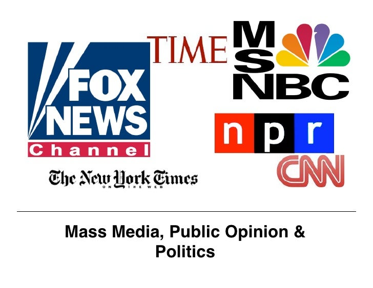 Mass Media Introduction Lesson