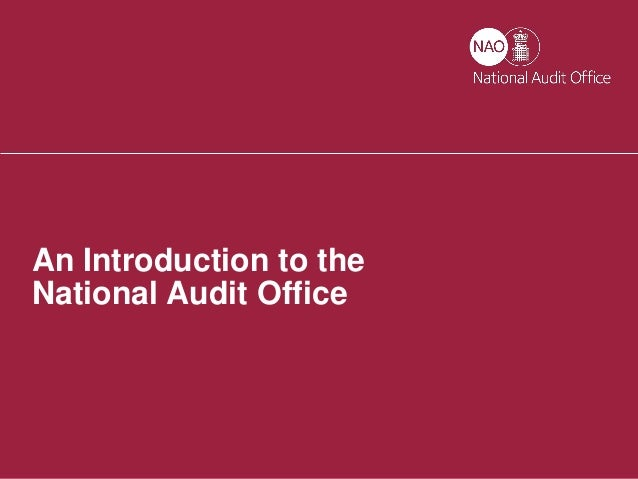 are national audit office value for National audit office, london, united kingdom 17k likes we help the government spend wisely.