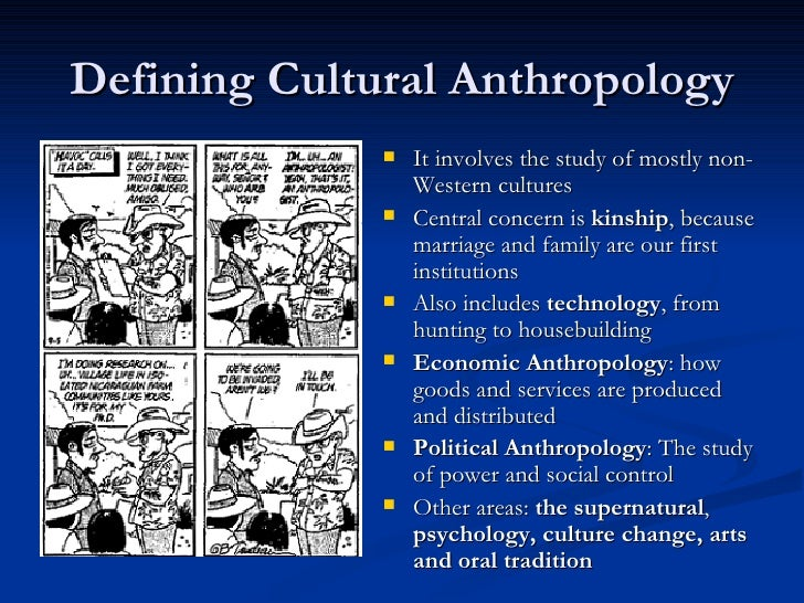 Cultural anthropology essays