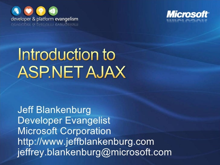 Introduction To Asp.Net Ajax