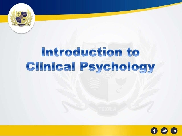 a description of clinical psychology What is clinical psychology clinical psychology is a career field that focuses on the identification and treatment of various mental, emotional, social, and behavioral health issues.