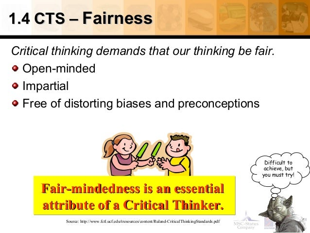 1 introduction what is critical thinking 1 chapter 1: reasoning and critical thinking 11 reasoning it is important to distinguish mere thinking, ie a sequence of unrelated thoughts, from reasoning.