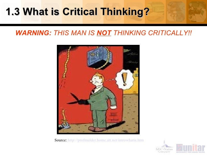 Analyzing arguments critical thinking