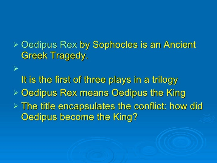 oedipus rex negative knowledge of Oedipus the king blindness essay sight not needed for knowledge oedipus rex anything in excess is negative oedipus the king by sophocles.