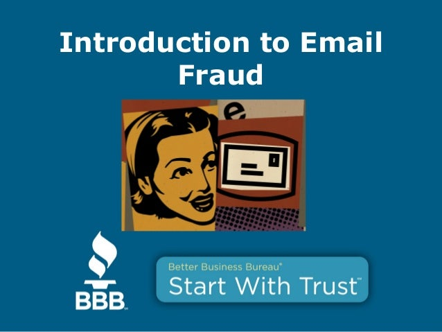 Introduction to Email Fraud