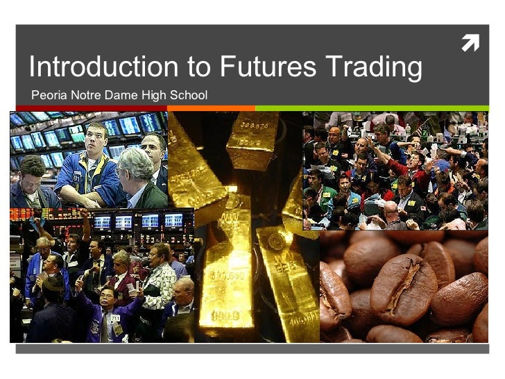 Trading commodities and financial futures - Market withdrawal