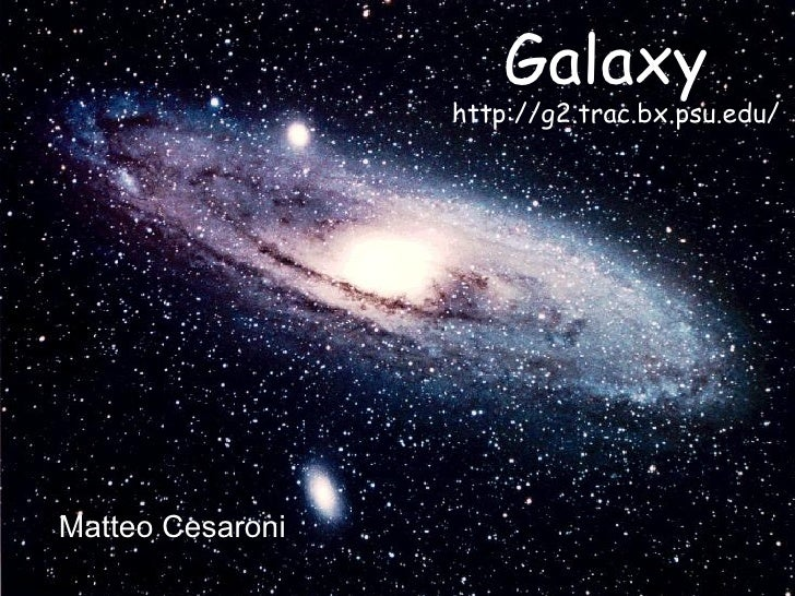 introduction to galaxy