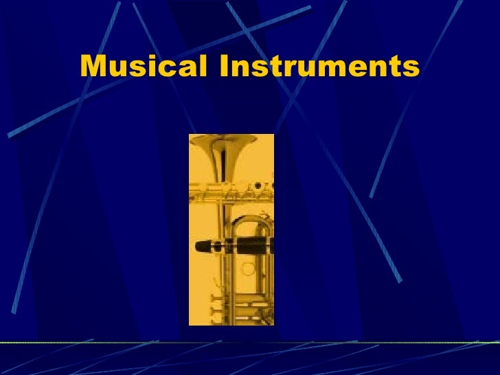 Introduction to Musical Instruments