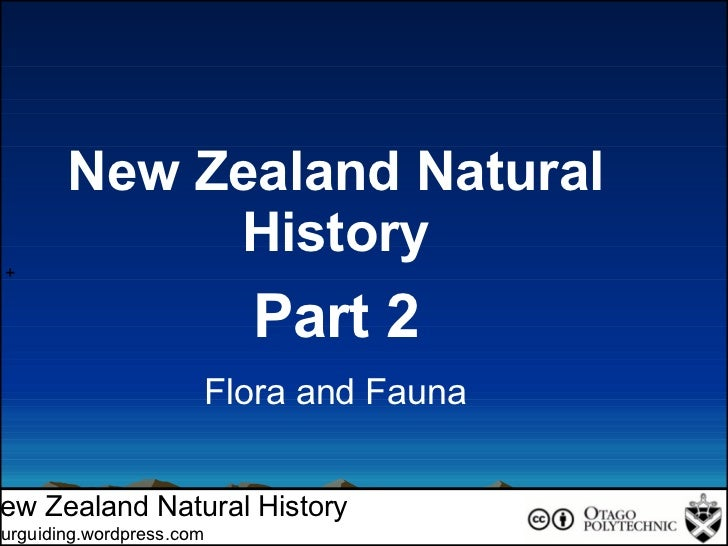 Introduction To New Zealand Natural History Part 2