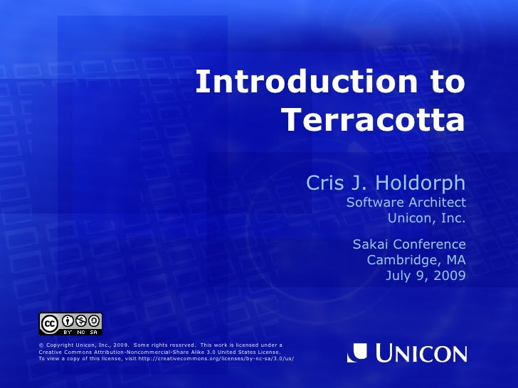 Introduction to Terracotta