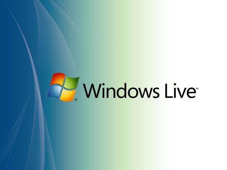 Introduction to the Windows Live Platform