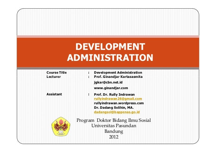 Introduction UNPAS 2012
