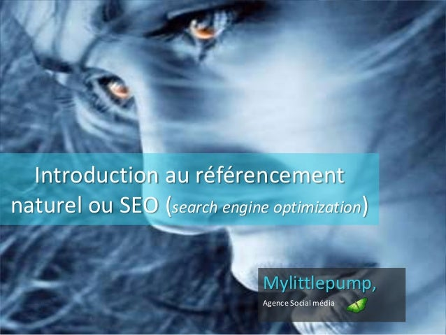 Introduction au référencement naturel ou SEO (search engine optimization) Mylittlepump, Agence Social média