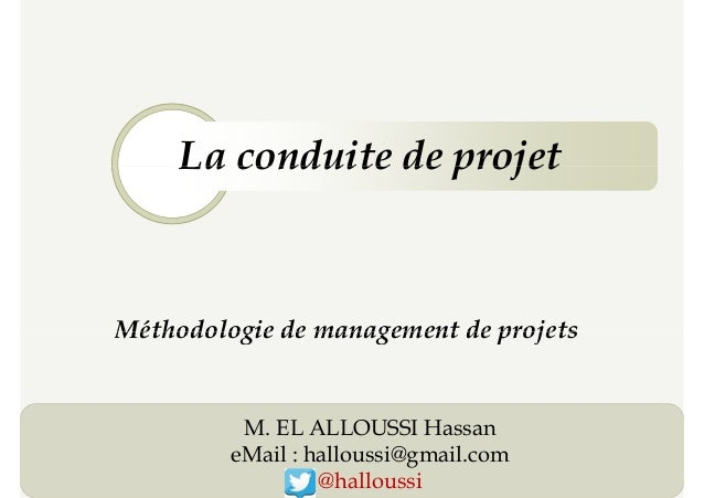 Introduction à la conduite de projet