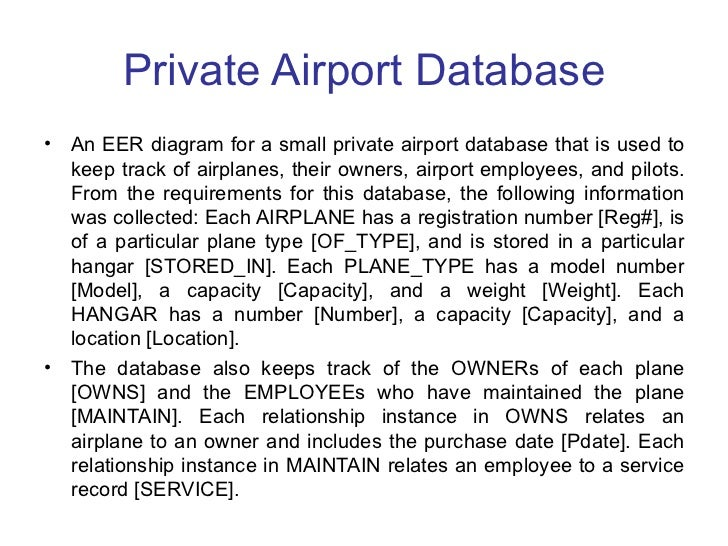 introduction er  amp  eer x      private airport