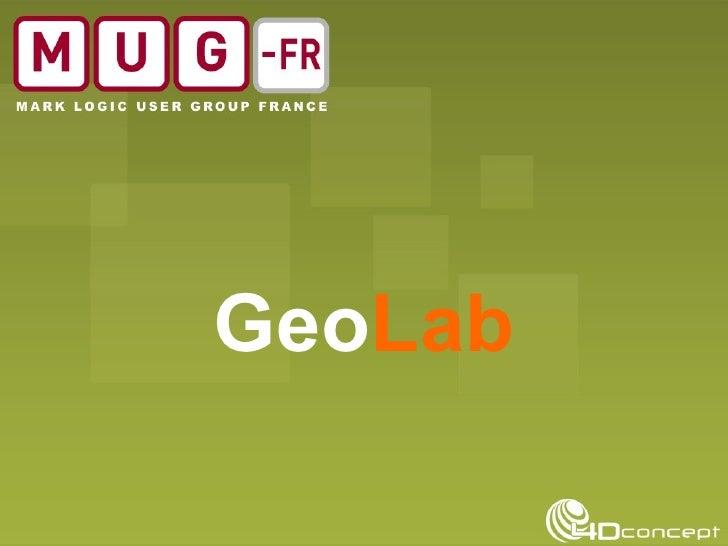 Geo Lab