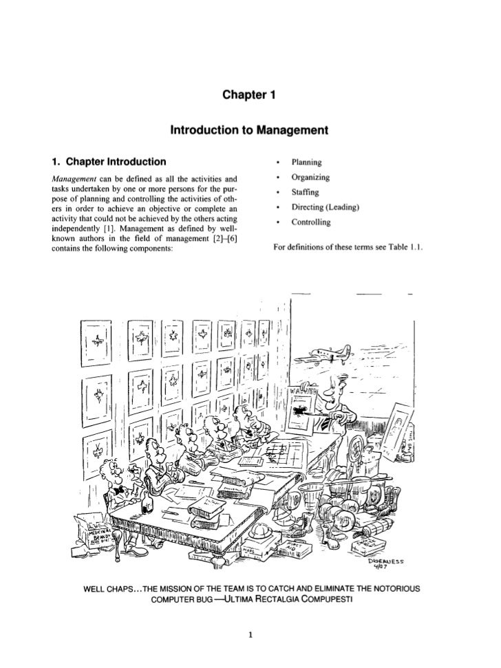 Chapter 1                                    Introduction to Management1. Chapter Introduction                            ...