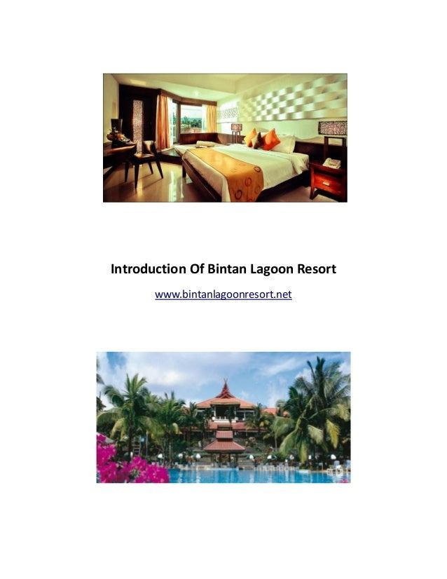 Introduction of Bintan Lagoon Resort