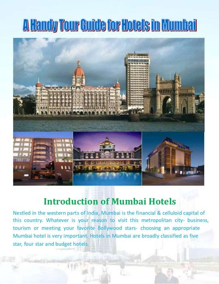 Introduction of Mumbai Hotels