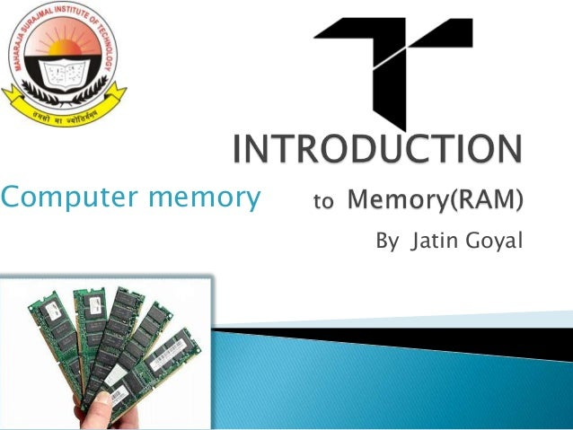 Introduction of ram ddr3