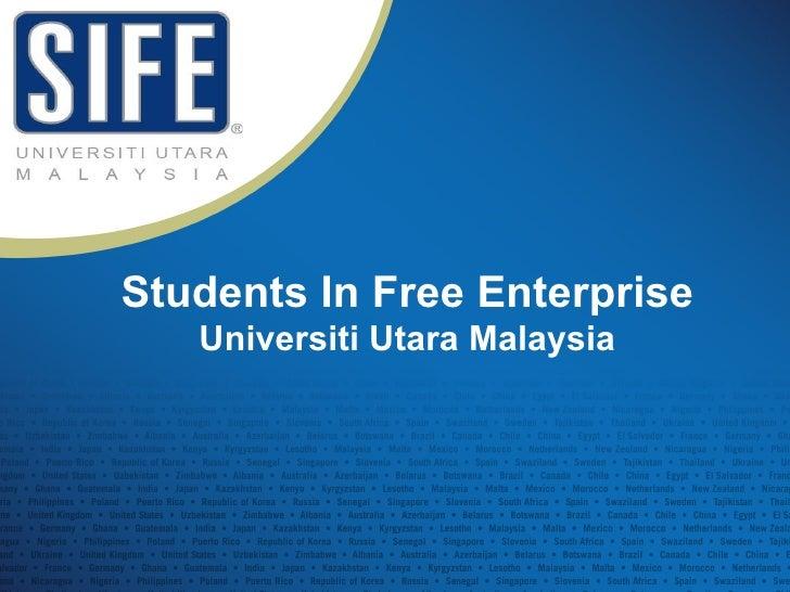 Students In Free Enterprise Universiti Utara Malaysia
