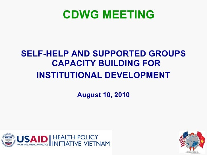 Introduction of ss gs program at cdwg en