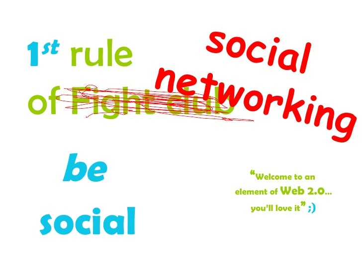 Introduction on how to be social