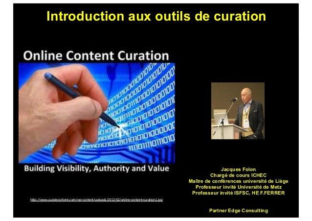 Introduction aux outils de curation