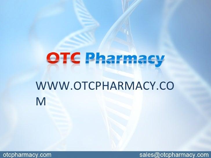 Welcome to OTCPharmacy