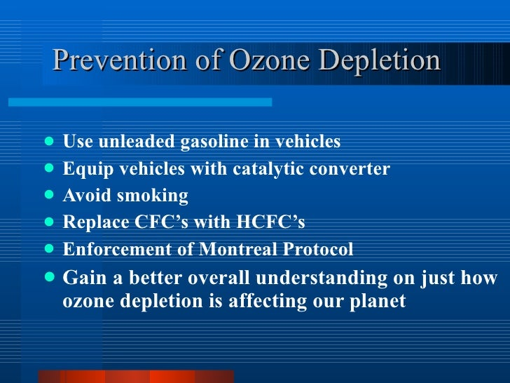 ozone depletion and global warming essay