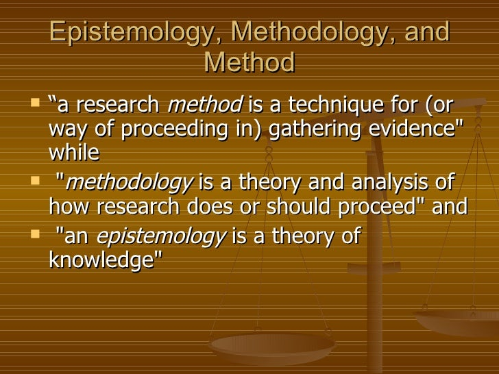 difference between research method and research methodology pdf